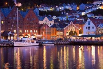 vlucht bergen noorwegen